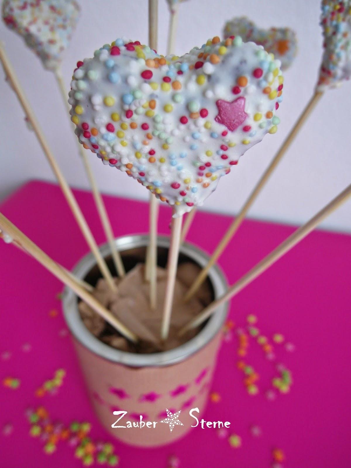 Cakepops Herzen