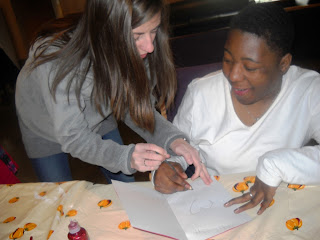intern, volunteers, arts & crafts, disability, projects, Progress Inc.