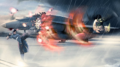 street fighter ilustracion Chun li