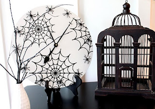 diseño reloj halloween