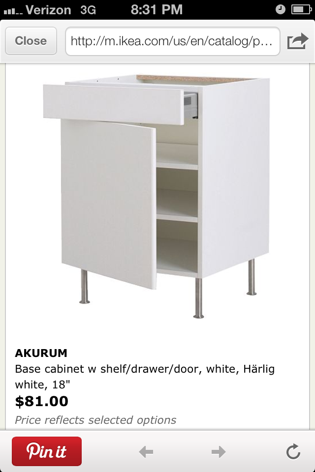 Selecting The Right Pair Of Cabinets To Serve As The Desk Base Was Also A  Little Tricky. They Had To Be The Right Hight, Wide Enough And Strong  Enough To ...