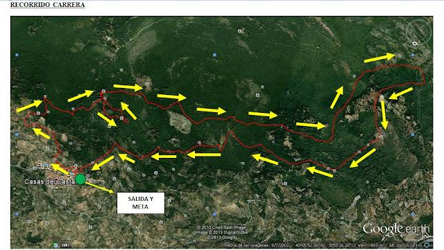 Recorrido Crono Asperillas (14,5 kms)