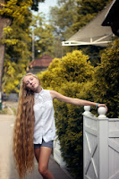 Photo of Cute Girl with long hair