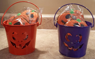 Halloween gift baskets, Hallowe'en gift baskets