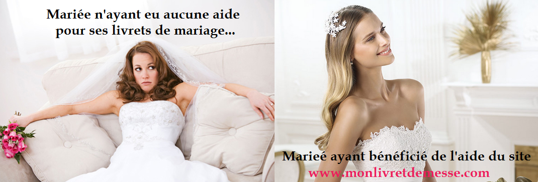 wedding spirit blog mariage livret de messe impression graphisme commander à domicile bonne adresse humour la mariée en colère