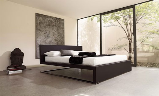 Contemporary modern and minimalist bedding design by for Minimalist bedding design