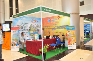 Booth PT Bimasakti Multiwealth