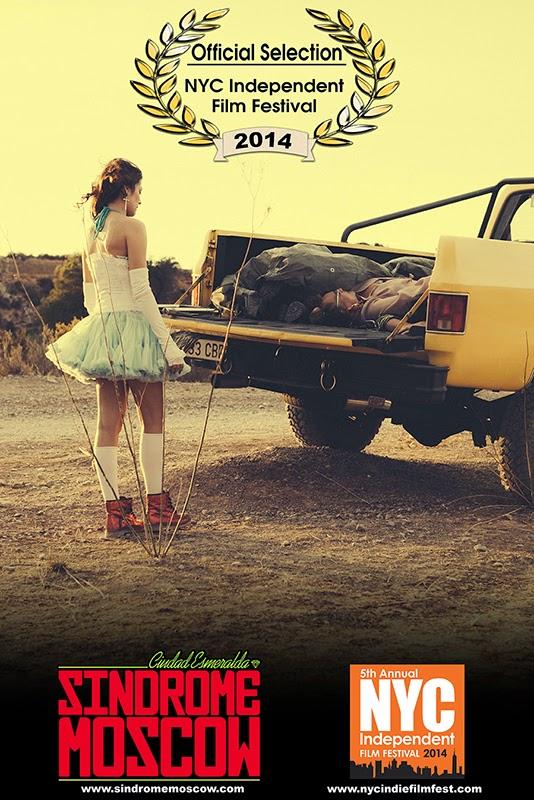 """Síndrome Moscow son elegidos en el NYC Independent Film Festival 2014 para presentar su video musical """"Ciudad Esmeralda"""""""