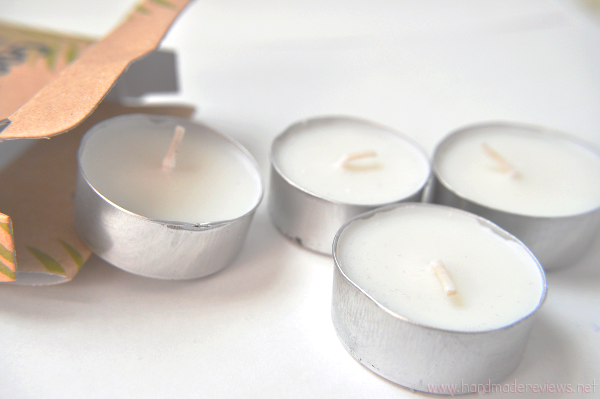 Natural tea candles are better for your health