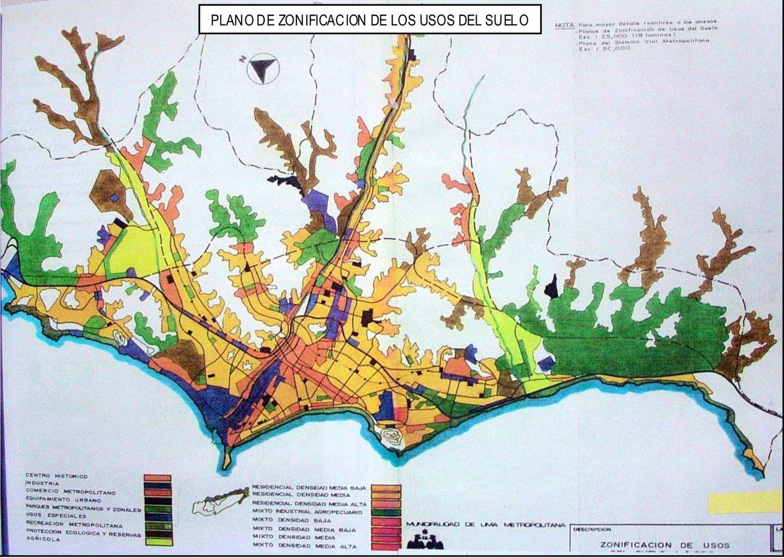 Urbvial 2011 for 4 usos del suelo en colombia