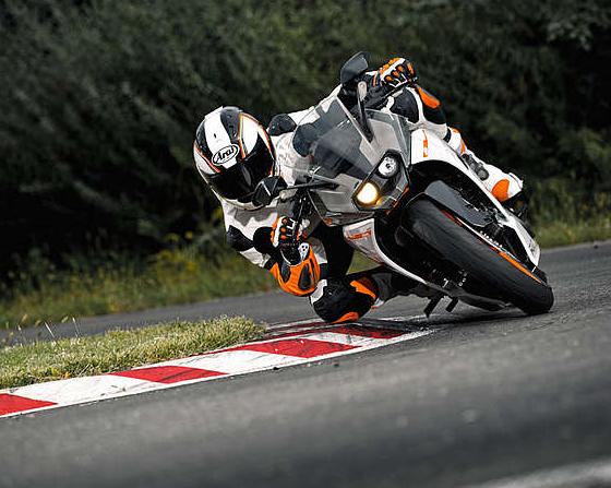 Tampilan dan desain KTM RC390