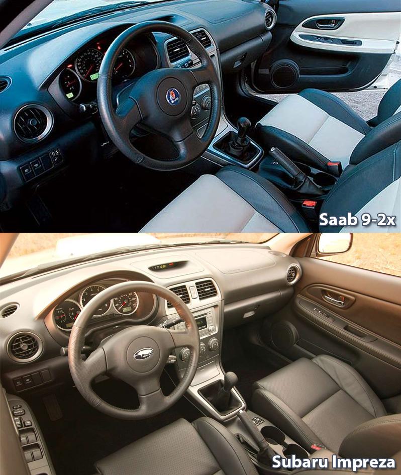 Saab 9 2x Aero Wrx: Dziwne Saaby: Saabaru (Saab 9-2x)