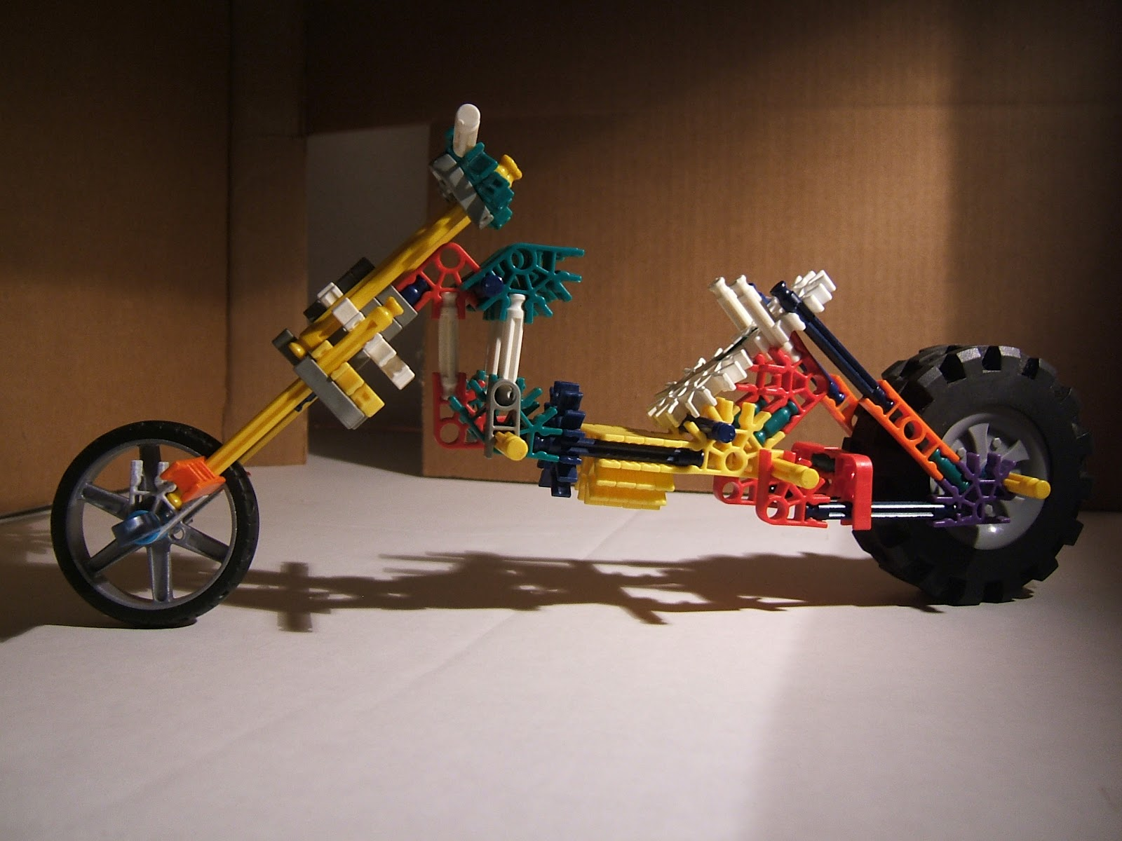 Bionicle K'Nex chopper