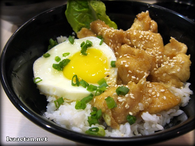 Lemongrass Chicken on Rice - RM7.90