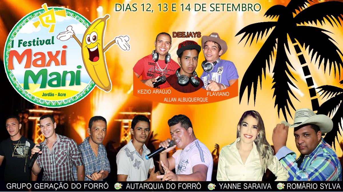 FESTIVAL DE PRAIA E BANANA 2014