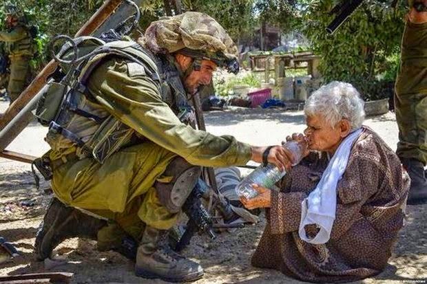Tentara Israel Tembak Nenek Palestina Setelah Diberi Minum