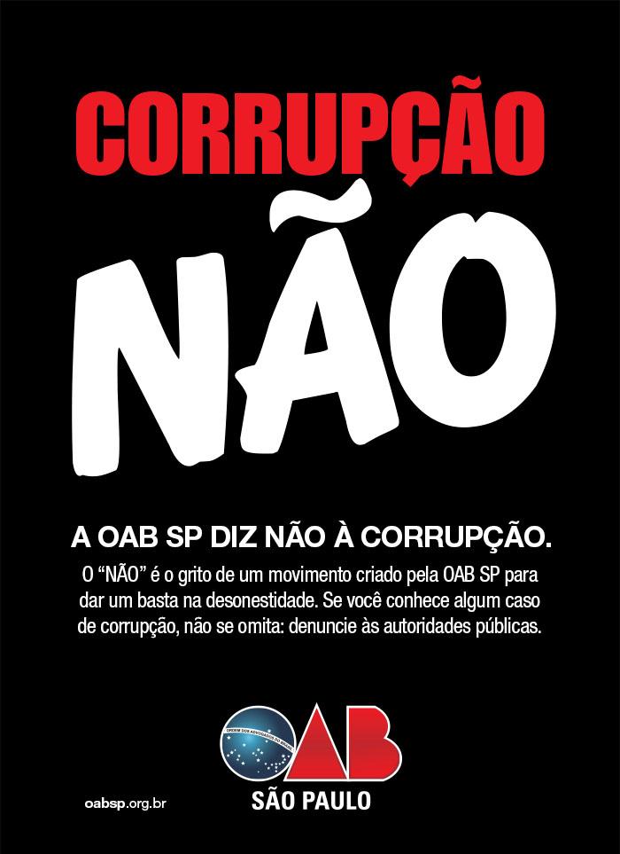 """Movimento """"Corrupção Não"""""""