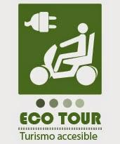Persona en vehículo eléctrico. Tecto: Ecotour Turismo Accesible.