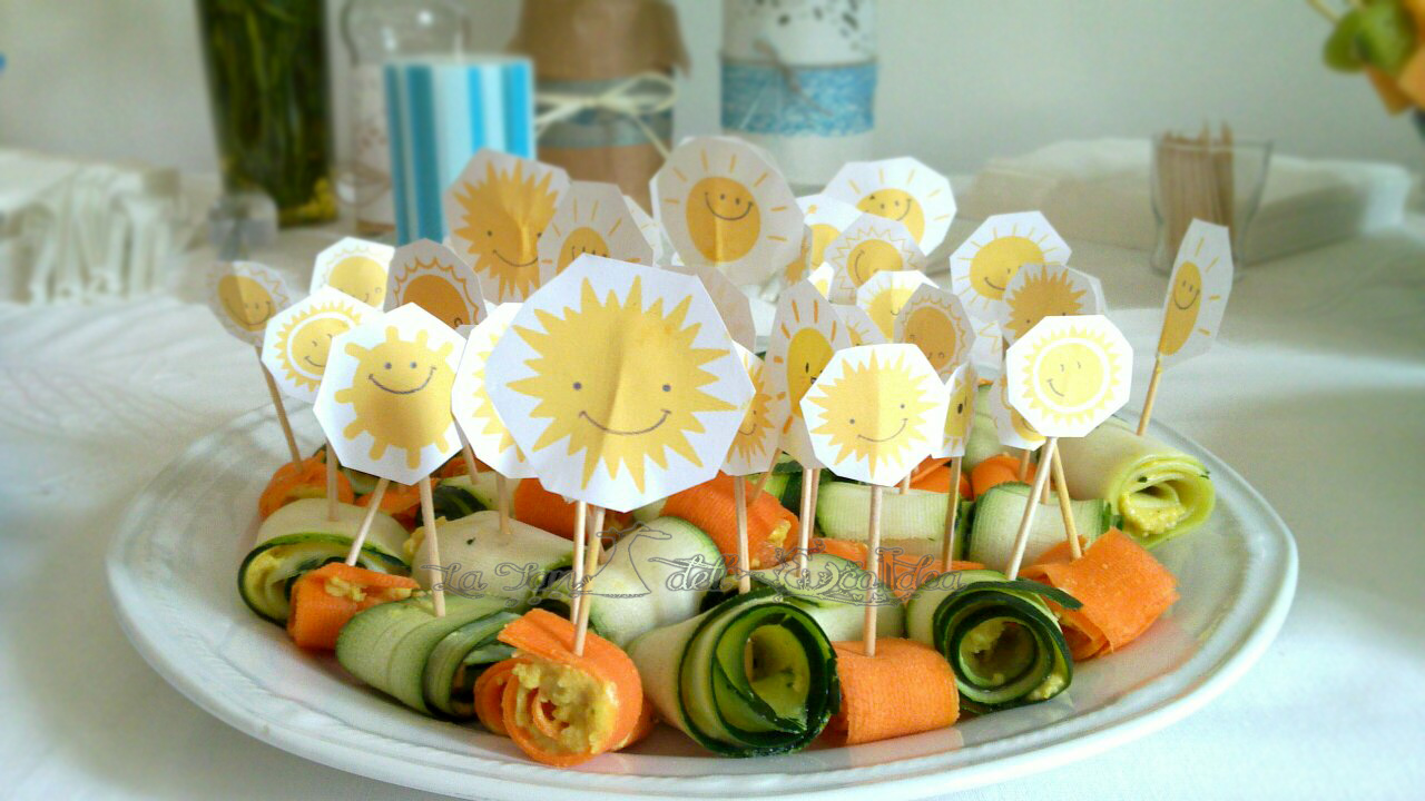 La tei centro tavola per festa diy e ringraziamenti - Centro tavola con frutta ...