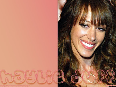 Haylie Duff Lovely Wallpaper