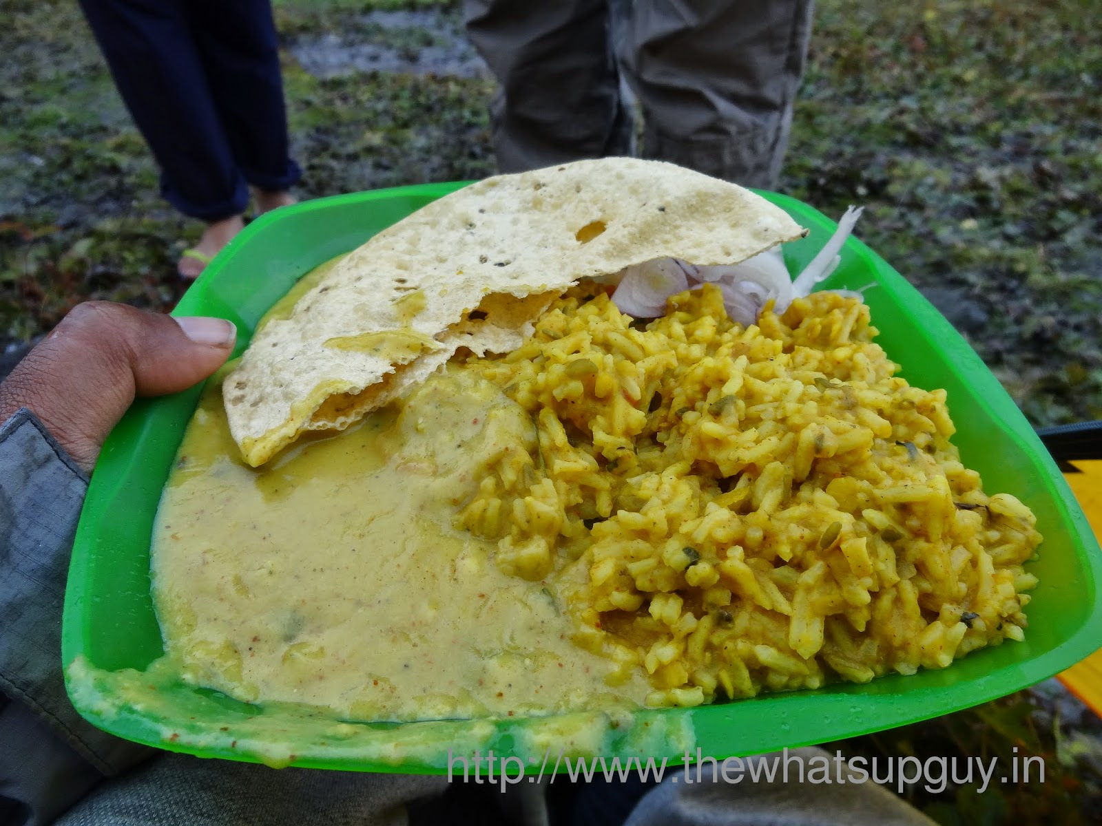 Food Roopkund Trek With India Hikes Day 3
