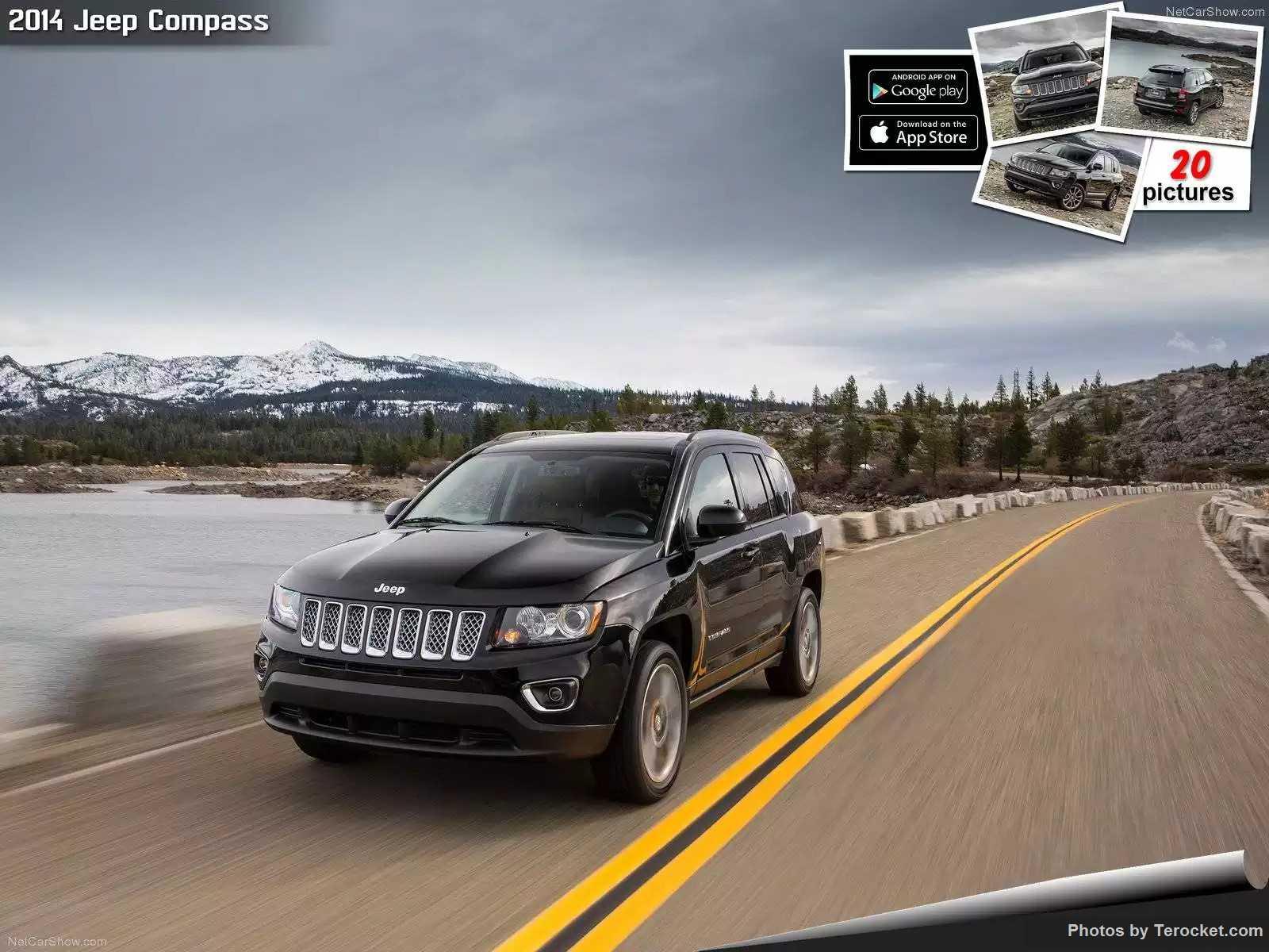 Hình ảnh xe ô tô Jeep Compass 2014 & nội ngoại thất