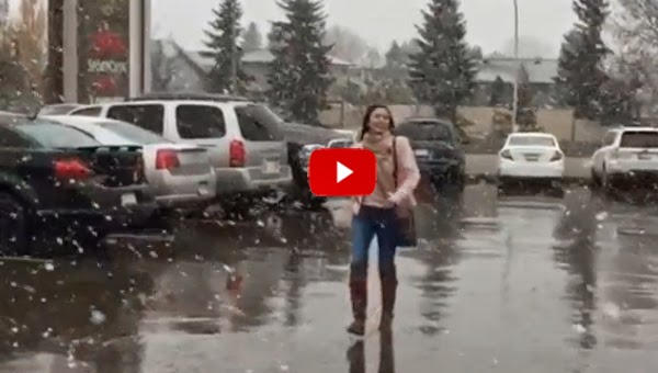 Watch Kim Chiu's first snow experience in Canada