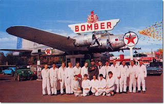 Art Lacey's Bomber Gas Station Crew