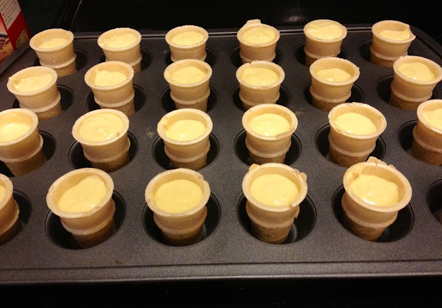 The Chirping Moms: Friday Favorites: Mini Ice Cream Cone Cupcakes