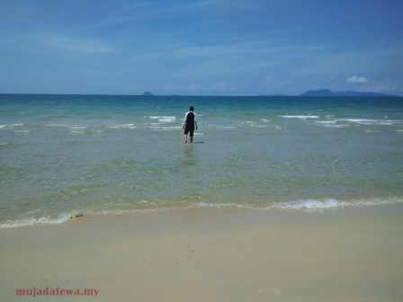 tempat menarik terengganu, pantai cantik terengganu, pantai air tawar terengganu