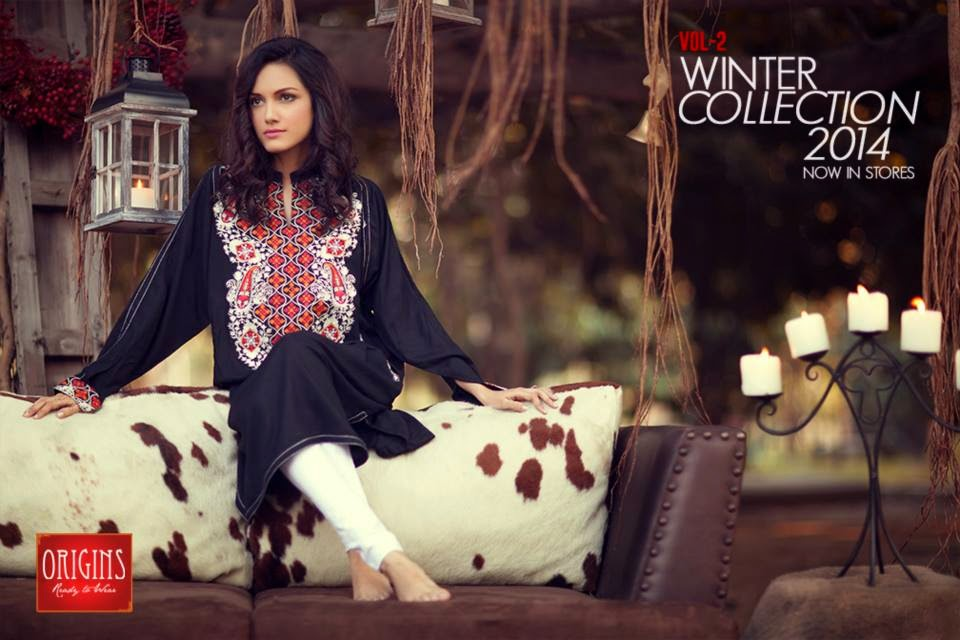 Winter, Kurti, Girls, 2015, Fashion, Formal.