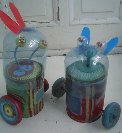 Plastic Bottle Cap Crafts for Kids