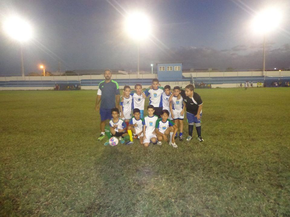 Projeto Bom de Escola Bola, da Prefeitura de Pendências RN fez jogo de treino em Alto do Rodrigues.