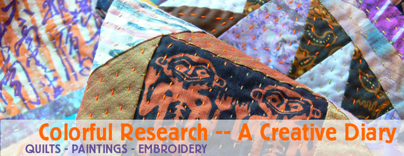 Colourful Research -- a Creative Diary