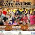 Veja a programação da 26ª Festa de Santo Antônio de Sítio do Quinto-BA