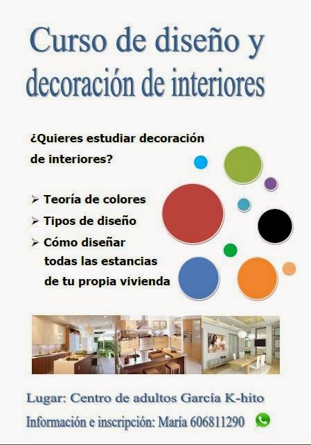 Curso de dise o y decoraci n de interiores crece la for Curso decoracion interiores