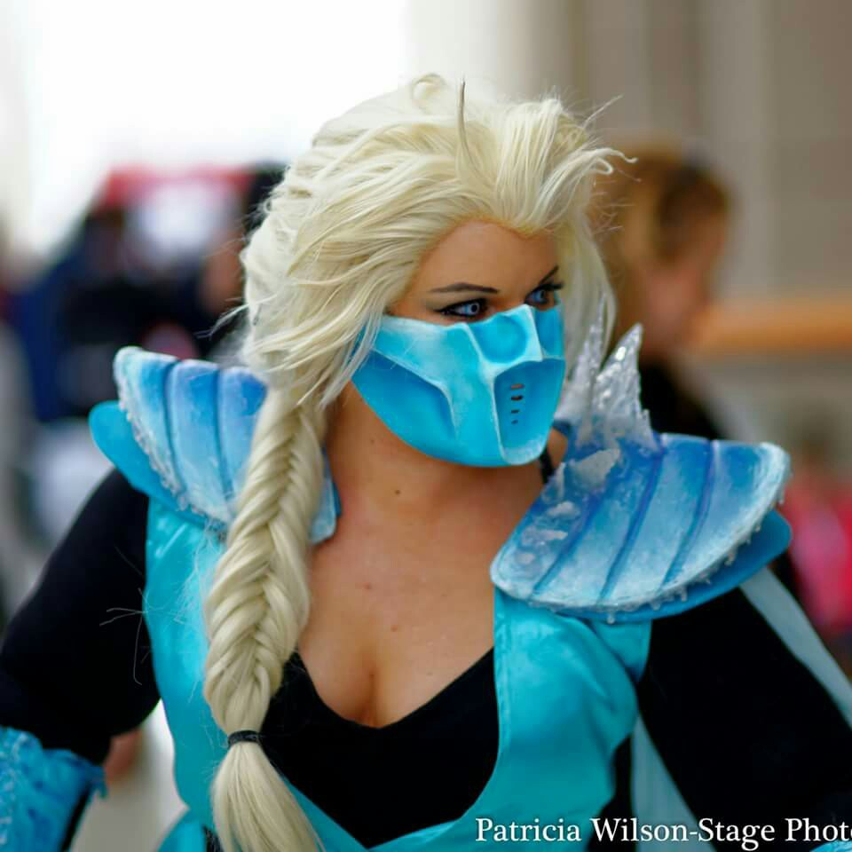 Alex b cosplay sub zero elsa progress tutorial the mask baditri Images