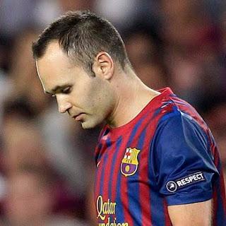 Barcelona se queda tres semanas sin Iniesta
