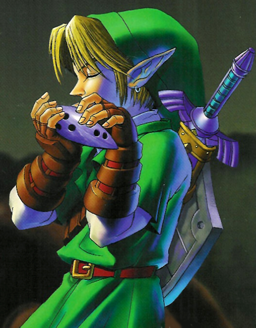Marie night and day do you play ocarina - Link dans zelda ...