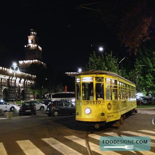 TramGusto: l'olio toscano IGP a spasso per Milano… In tram.