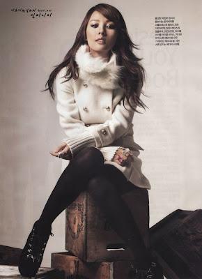 Hyori - AnAn Magazine Photoshoot