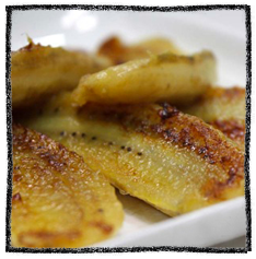 Seared Brown Sugar Sweet Plantain African Dessert Recipe
