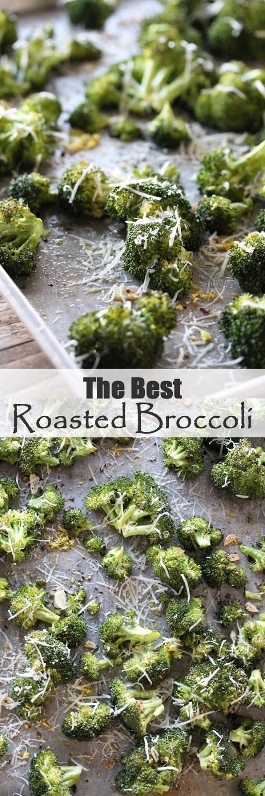 The Best Roasted Broccoli with Garlic and Parmesan