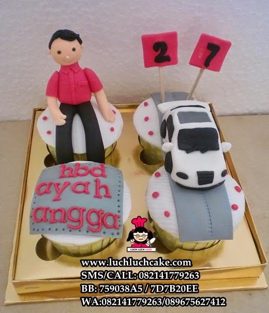 Cupcake Mobil Untuk Ayah Daerah Surabaya - Sidoarjo