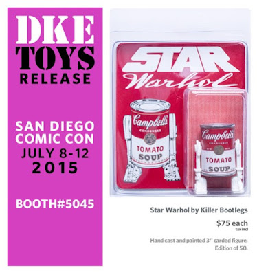 San Diego Comic-Con 2015 Exclusive Star Warhol Bootleg Star Wars Resin Figure by Killer Bootlegs