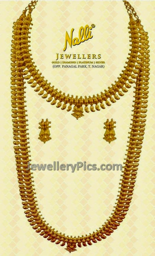 Gold traditional Mohana mala