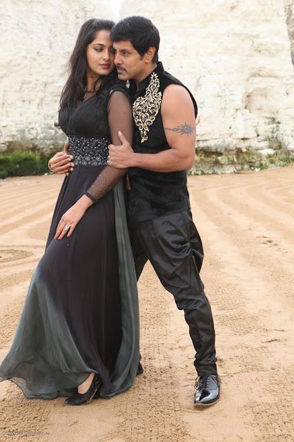 Anushka photos Sivathandavam movie