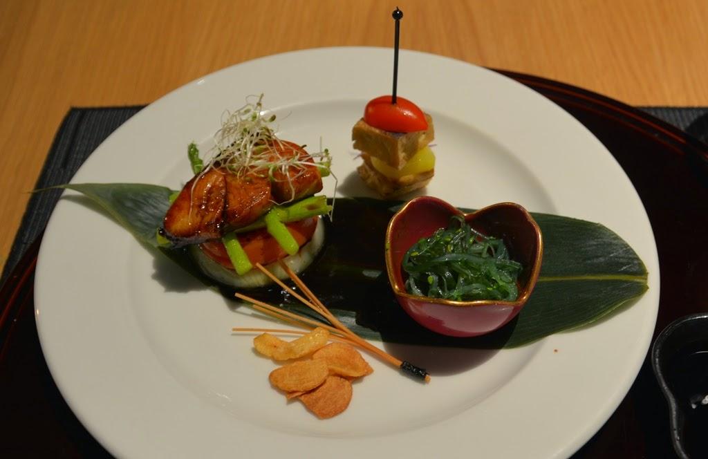 Restaurant Tatsu Kuala Lumpur salmon
