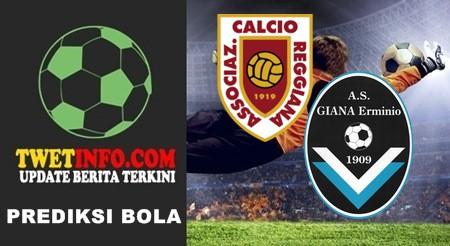 Prediksi Reggiana vs GIANA Erminio