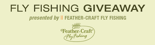 The jersey angler feather craft fly fishing gear giveaway for Free fishing tackle giveaway